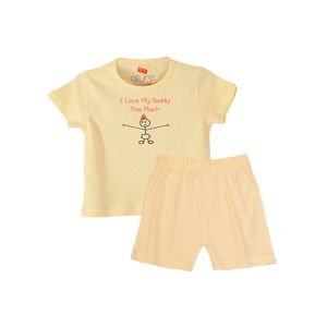 AllureP T-shirt Lime Love Daddy H-S Lime Shorts
