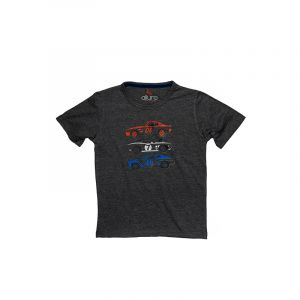 AllureP Boys T-Shirt Cars Sports Grey