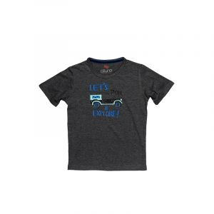 AllureP Boys T-Shirt Explore Sports Grey
