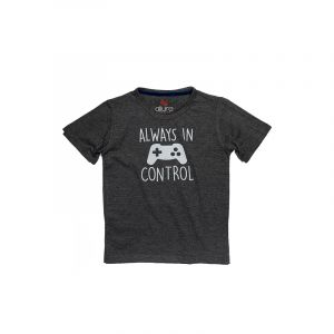 AllureP Boys T-Shirt In Control Sports Grey