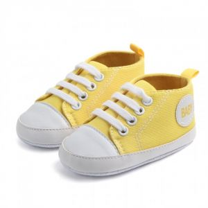 Baby Steps Shoes Junior Yellow