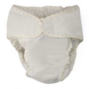 Little Sparks Baby Reusable Nappy White