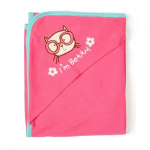 Little Sparks Baby Wrapping Sheet Betty Pink