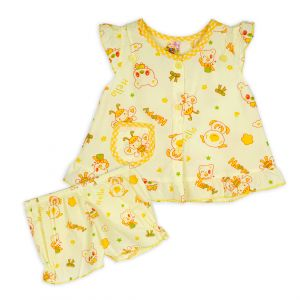 Little Sparks Baby Jhabla Suit Happy Bee Yellow