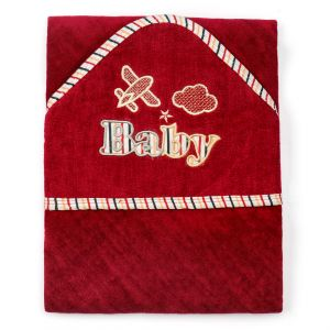 Little Sparks Baby Wrap Towel Baby Brown