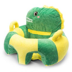 Little Sparks Baby Booster Seat Crocodile Green & Yellow