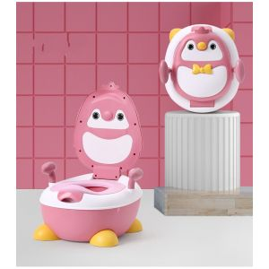 Little Sparks Baby Potty Seat Penguin Pink