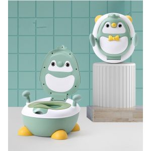 Little Sparks Baby Potty Seat Penguin Green