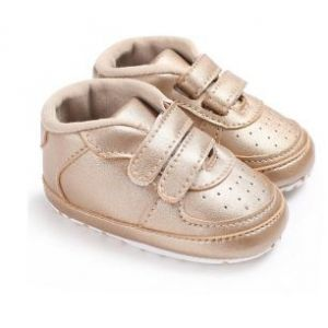 Baby Steps Shoes Gold