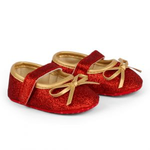 Baby Steps Shoes Shiny Red