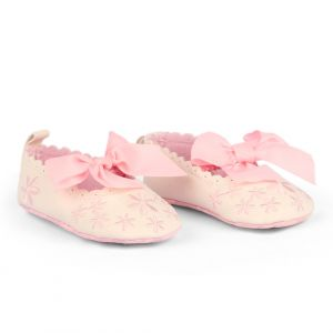 Baby Steps Shoes Flower Pink