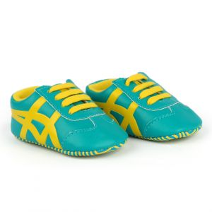 Baby Steps Shoes Tiger Green