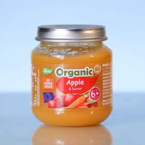 Deva Organic Baby Food Apple & Carrot (No Added Suger) 6m+ 120gm