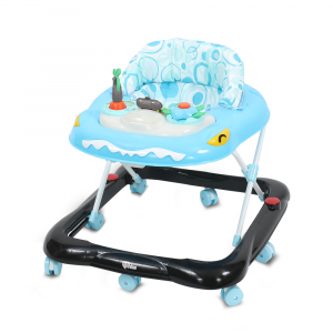 TINNIES BABY WALKER SHARK BLUE