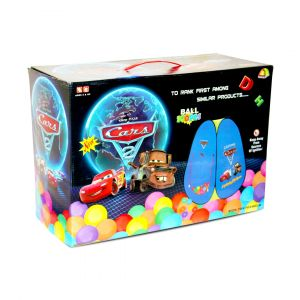 Joymaker Cars Tent House With 100 Balls