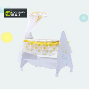 Junior Baby Craddle Yellow & White