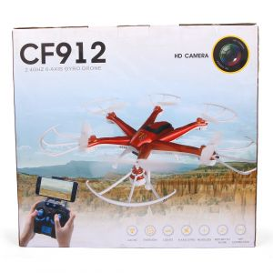 Junior 2.4GHz 6 Axis Gyro Drone Red