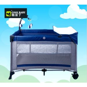 Junior Playpen Blue & Grey
