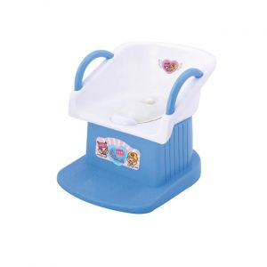 Junior Baby Potty Seat Blue & White