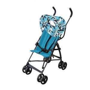 Bachaa Party Adjustable Baby Stroller - Blue