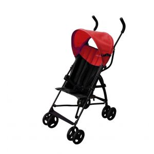 Bachaa Party Adjustable Baby Stroller - Red