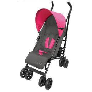Bachaa Party Baby Foldable Stroller - Pink