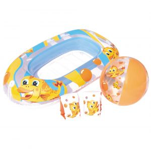 Bestway Beach Set With Trolley, Ball, Arm sets