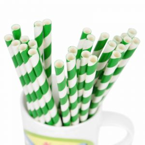 Little Sparks Party Straws 26pcs Pink Dots