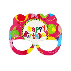 Little Sparks Face Mask 6pcs Happy Birthday