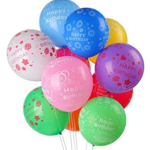 Little Sparks Birthday Printed Balloon Pack Of 100