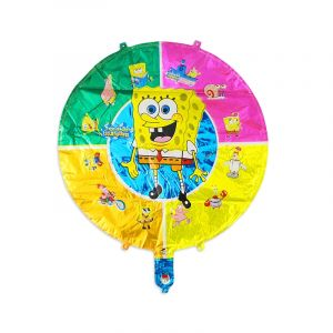 Little Sparks Foil Cherector Balloon Large Sponge Bob