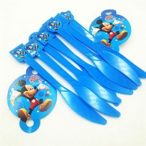 Little Sparks Birthday Knife Set Mickey Mouse Blue