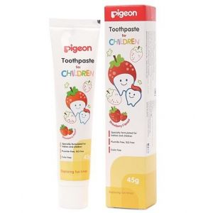 Pigeon Toothpaste Children Strawberry 45g