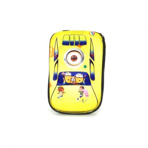 Little Star Character Bag With Hard Plastic Cover Minion