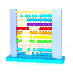 Little Star Classic Wooden Abacus For Kids Blue