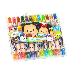 Little Star Rolling Crayon Colors Minnie Mouse