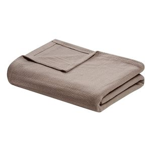 Home n Baby Cuddle Breathable Soft Blanket Queen Brown