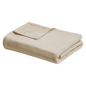 Home n Baby Cuddle Breathable Soft Blanket Queen Light Brown