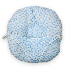 Little Sparks Baby Diaper Style Bed Blue