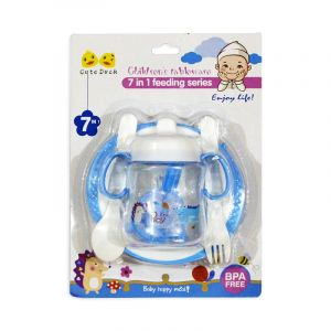 Little Sparks 7in1 Baby Feeding Set Blue