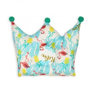 Little Sparks Baby Pillow Crown Relax Green