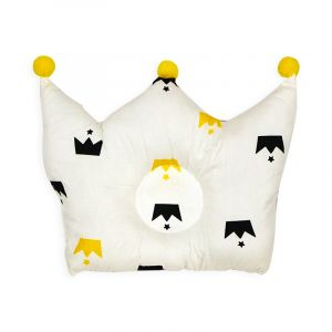 Little Sparks Baby Pillow Crown White