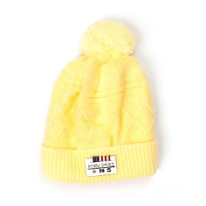 Little Sparks Baby Winter Cap N5 Yellow