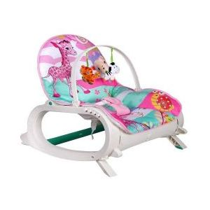 Joymaker New Born To Toddler Portable Rocker Pink