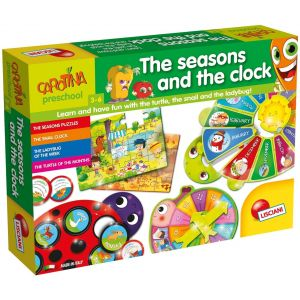 Lisciani Carotina Maxi The Seasons And The Clock