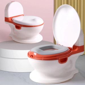 Infantes Baby Pooty Seat White & Red