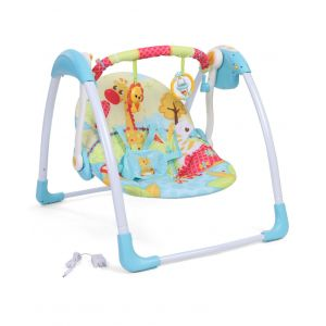 Mastela Delux Portable Swing Blue