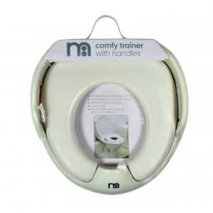Mothercare Comfy Trainer (Potty Trainer) With Handle - White