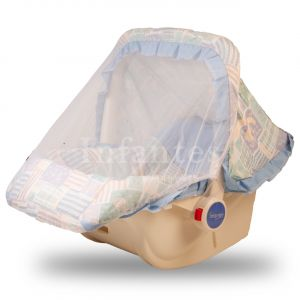 Infantes Baby Carry Cot w/ Mosquito Net Light Blue