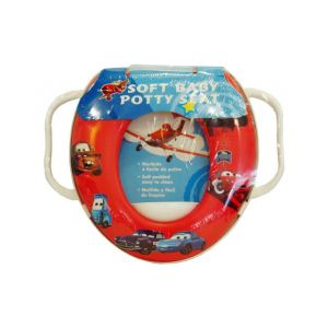 Infantes Baby Printed Toilet Seat Car Red